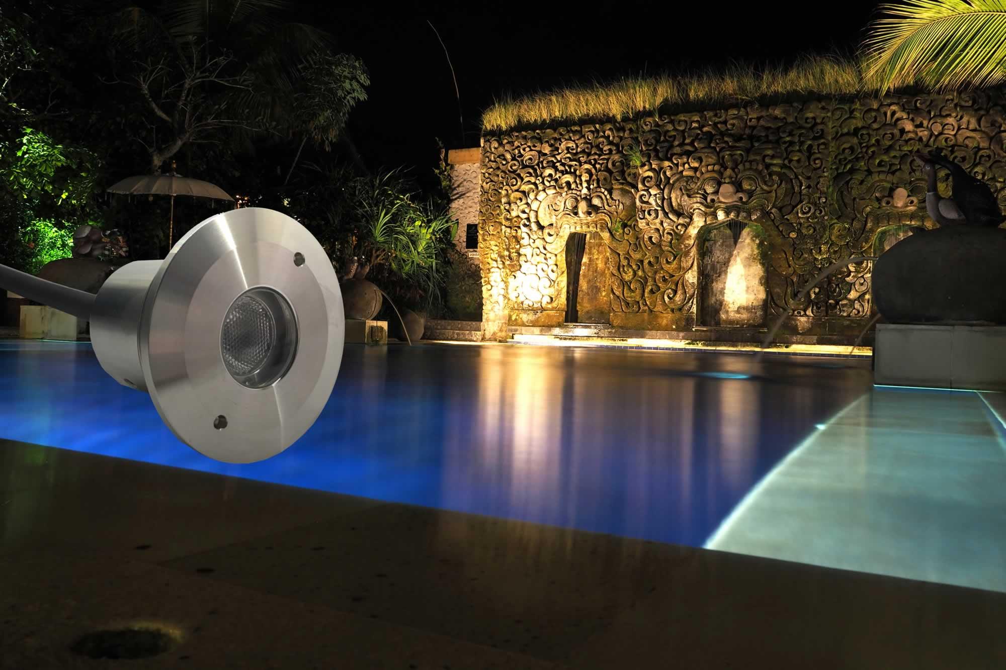 Grotto Pool Lighting